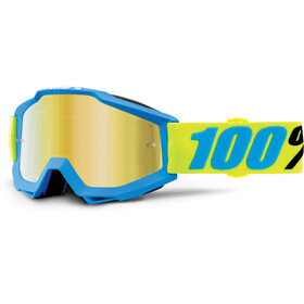 100% Accuri Anti Fog Mirror Maschera blu